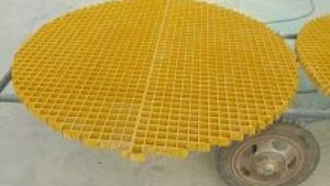Where is the main use of FRP grating